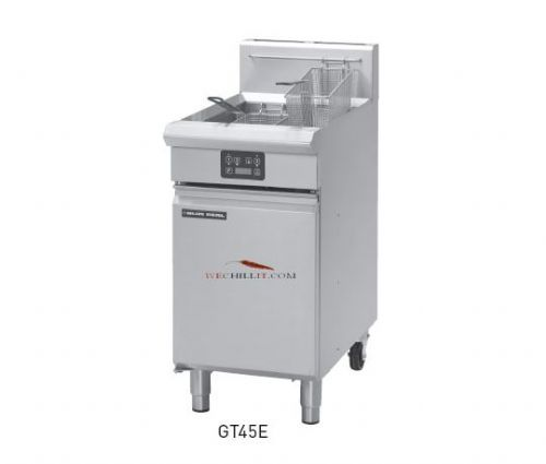 Blue Seal Evolution GT45E VEE Ray Single Tank Gas Fryer
